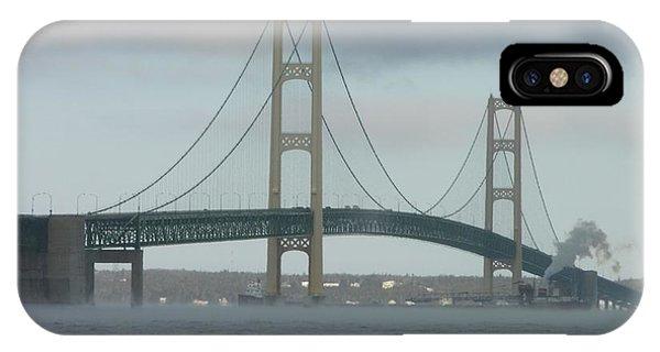 Bridge With Haze IPhone Case