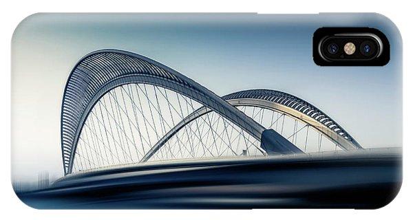 Long Exposure iPhone Case - Bridge#1 by Baidongyun