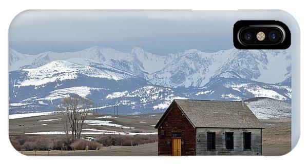 Bridger Background IPhone Case