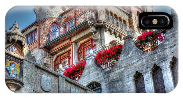 Bridges And Balconies Hdr IPhone Case