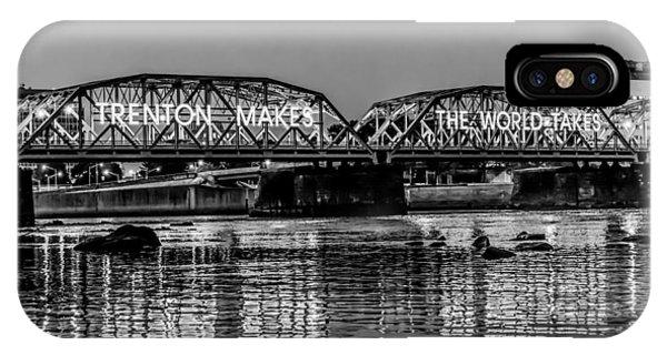Trenton Makes Bridge IPhone Case
