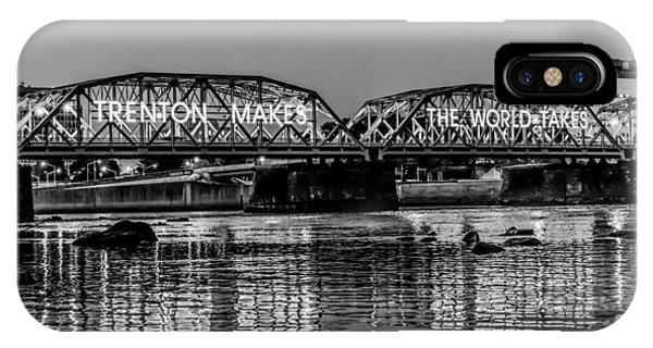 New Jersey iPhone Case - Trenton Makes Bridge by Louis Dallara