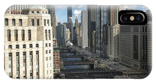 Bridges Over The East Branch Of The Chicago River IPhone Case