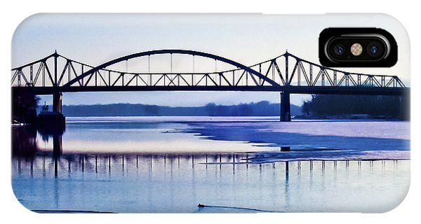 Bridges Over The Mississippi IPhone Case