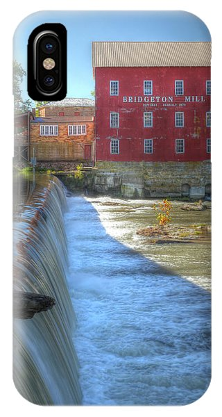 Bridgeton Grist Mill IPhone Case