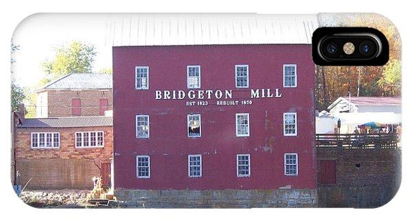 Bridgeton Mill IPhone Case