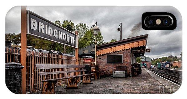 Sleeper iPhone Case - Bridgnorth Railway Station by Adrian Evans