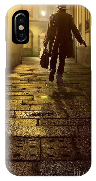 Briefcase Gangster IPhone Case