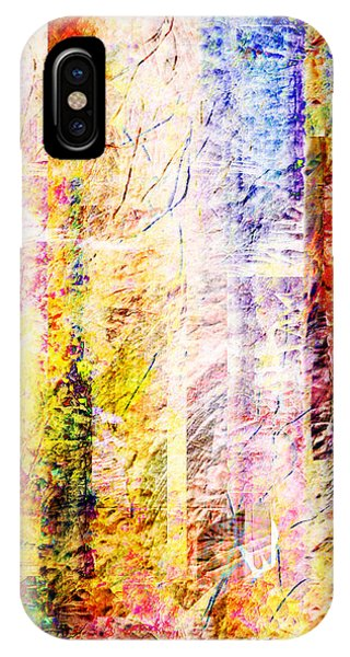 Bright Fall Abstract 2 IPhone Case