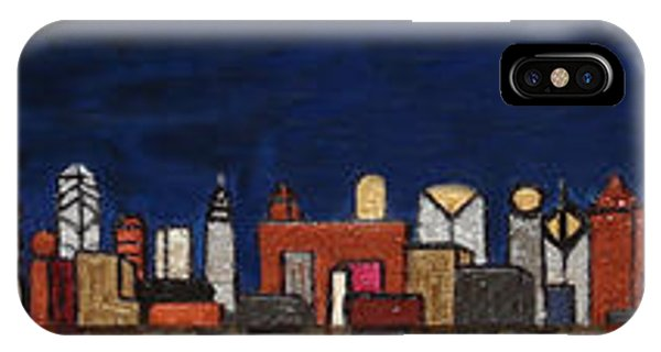 Bright Moon Over The Hudson IPhone Case