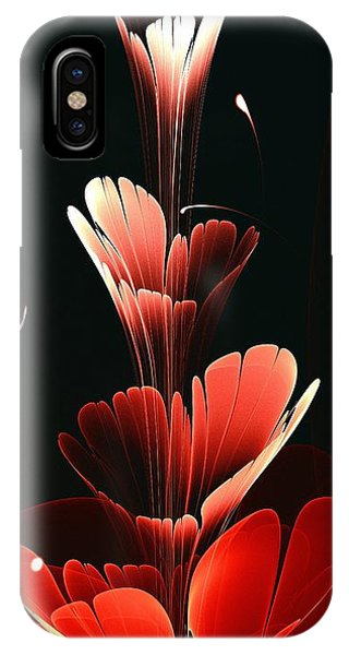 Bright Red IPhone Case