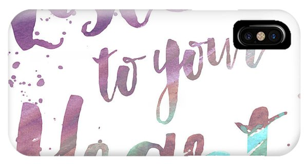 Thought iPhone Case - Bright Wise Thoughts I by Elizabeth Medley