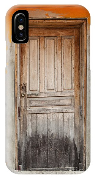 Brightly Colored Door And Wall IPhone Case
