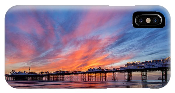 Brighton Sunset IPhone Case