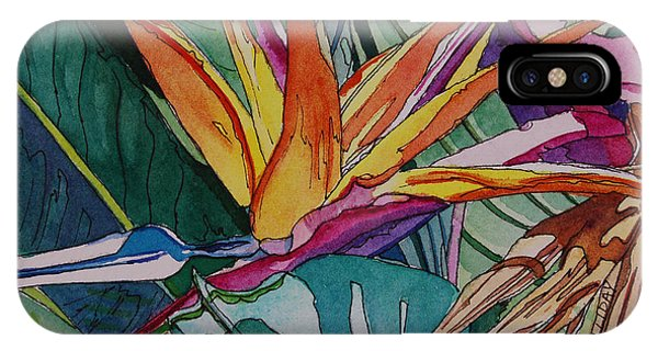 Brillant Bird Of Paradise IPhone Case