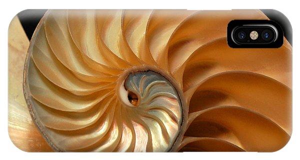 Brilliant Nautilus IPhone Case