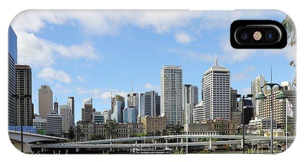 Brisbane City IPhone Case