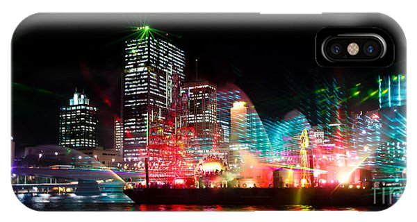 Brisbane City Of Lights IPhone Case