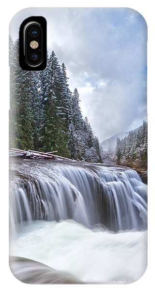 Brisk Winter Morning IPhone Case
