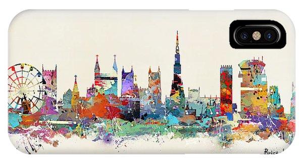 England iPhone Case - Bristol City England by Bri Buckley