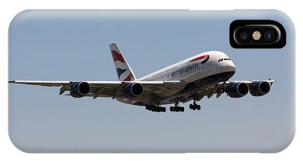 British Airways A380 IPhone Case