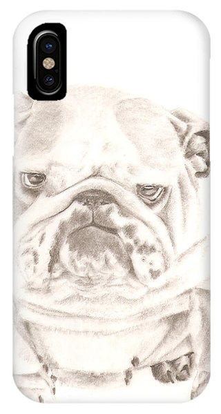 British Bulldog Winnie IPhone Case