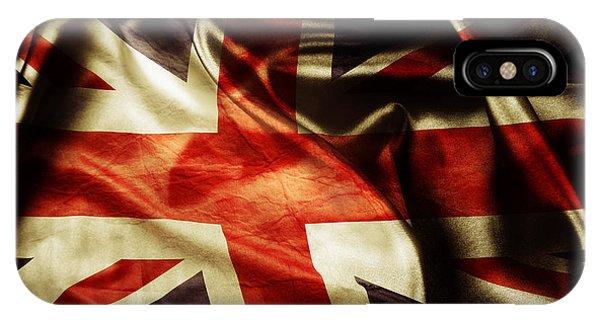 British Flag 1 IPhone Case