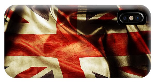 Jack iPhone Case - British Flag 1 by Les Cunliffe