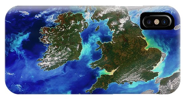 Northern Scotland iPhone Case - British Isles by Digital Globe/science Photo Library