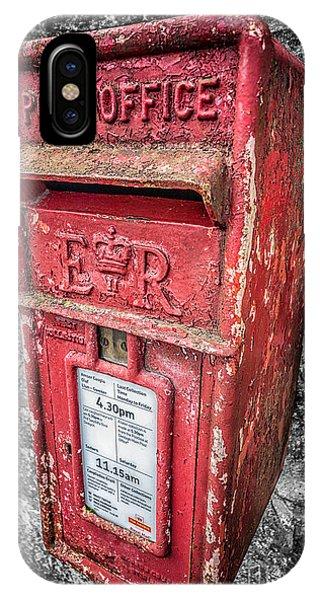 British Post Box IPhone Case