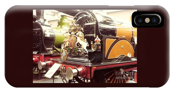 British Royal Engine IPhone Case