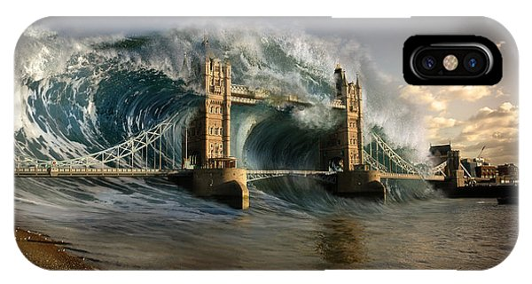 British Tsunami Phone Case by T Dilley
