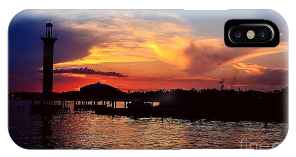 Broadwater Biloxi IPhone Case