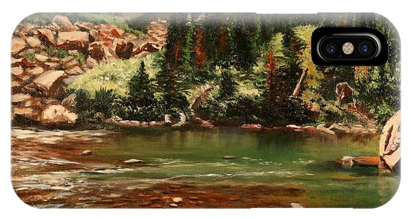 Broadwater Pond IPhone Case