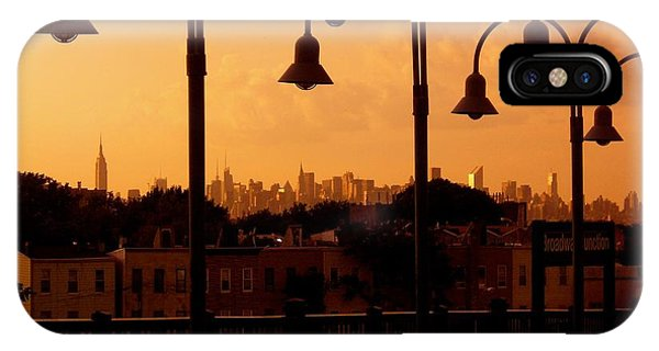 Broadway Junction In Brooklyn, New York IPhone Case