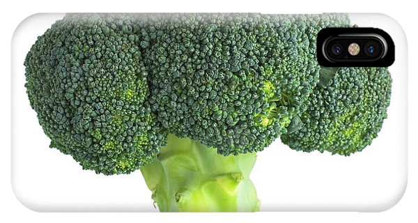 Broccoli iPhone Case - Broccoli by Science Photo Library