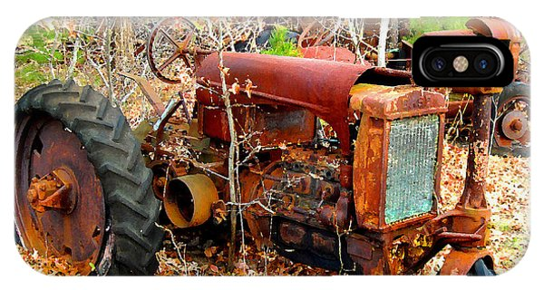 Broken Down Old Tractor IPhone Case