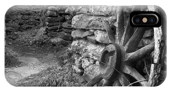 Wagon Wheel iPhone Case - Broken Wheel - Ireland by Mike McGlothlen