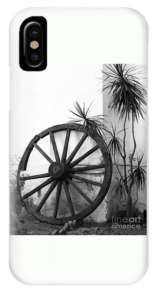 Broken Wheel IPhone Case