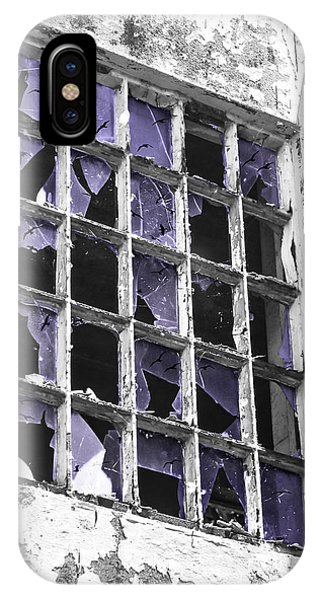 Broken Windows With Birds IPhone Case