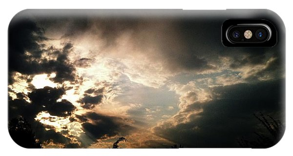 Brooding Fire IPhone Case