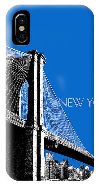 Empire State Building iPhone Case - Brooklyn Bridge by DB Artist