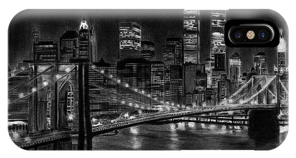 Brooklyn Bridge New York IPhone Case