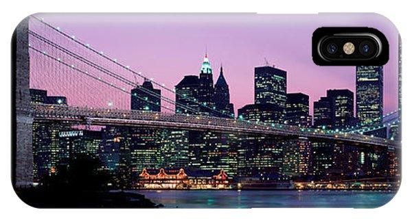 Brooklyn Bridge New York Ny Usa IPhone Case