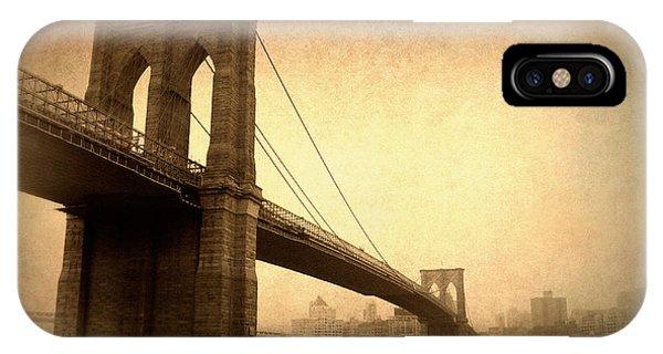 Brooklyn Bridge Nostalgia II IPhone Case