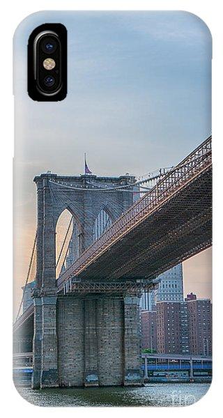 Brooklyn Bridge Sunset IPhone Case