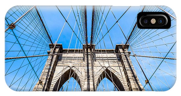 Brooklyn Bridge Suspension IPhone Case