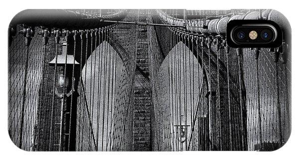 Brooklyn Bridge Up Close New York City IPhone Case