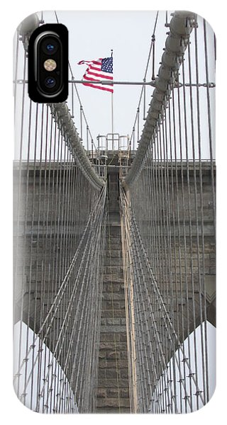 Brooklyn Bridge Wires IPhone Case