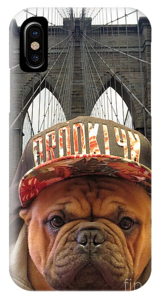 Brooklyn Dog IPhone Case